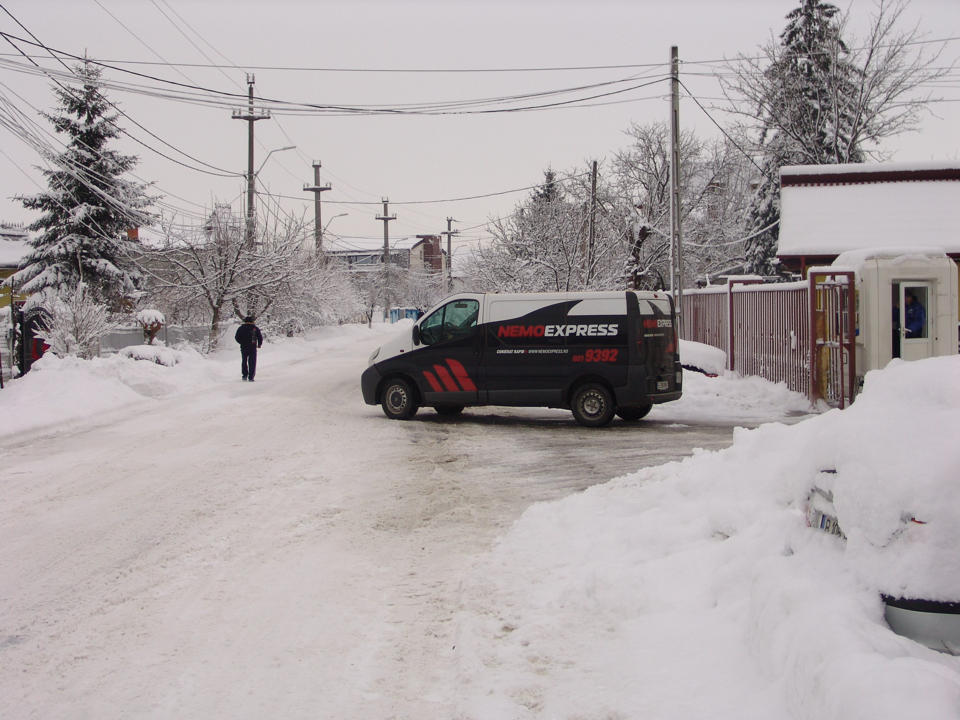 NEMO EXPRESS: Posibile întârzieri în livrare din cauza ninsorilor și a viscolului