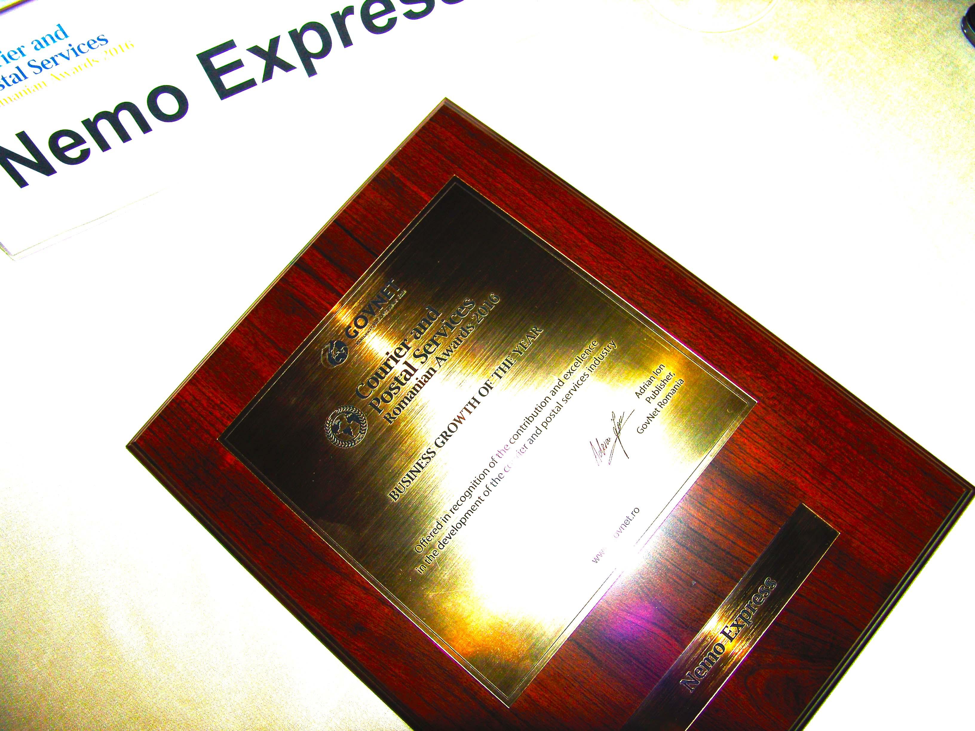 """Nemo Express – """"Business-ul cu cea mai mare creștere în ultimul an"""""""