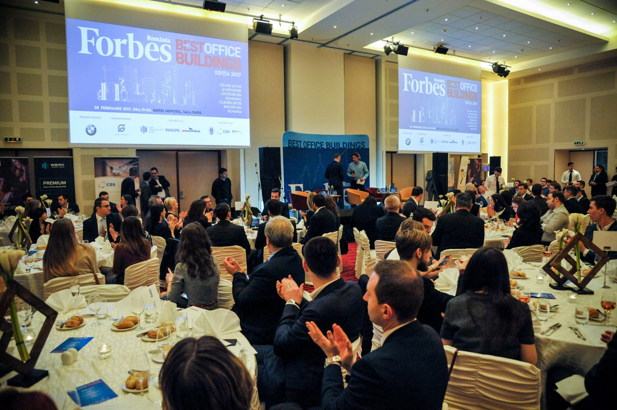 "NEMO EXPRESS, partener Gold la ""Gala Forbes Best Office Buildings"""